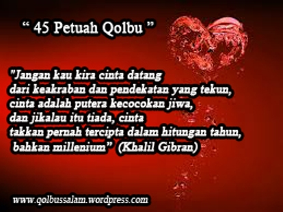 Kata Mutiara Qolbu Quotemutiara Quotemutiara